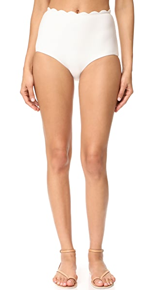 Marysia Swim Palm Springs High Waist Bikini Bottoms