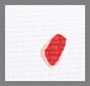 White/Red/Peony Dot