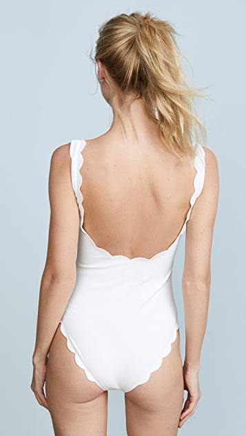 Marysia Swim Palm Springs Lace Up Maillot