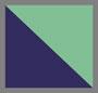 темно-синий/зеленый