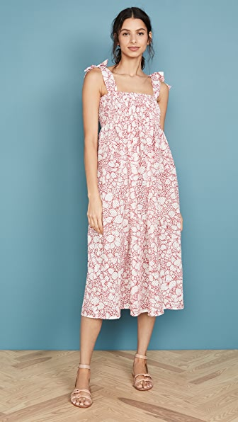 Marysia SICILY SMOCKED DRESS