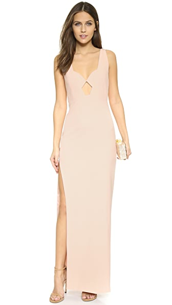 Michelle Mason Geometric Gown