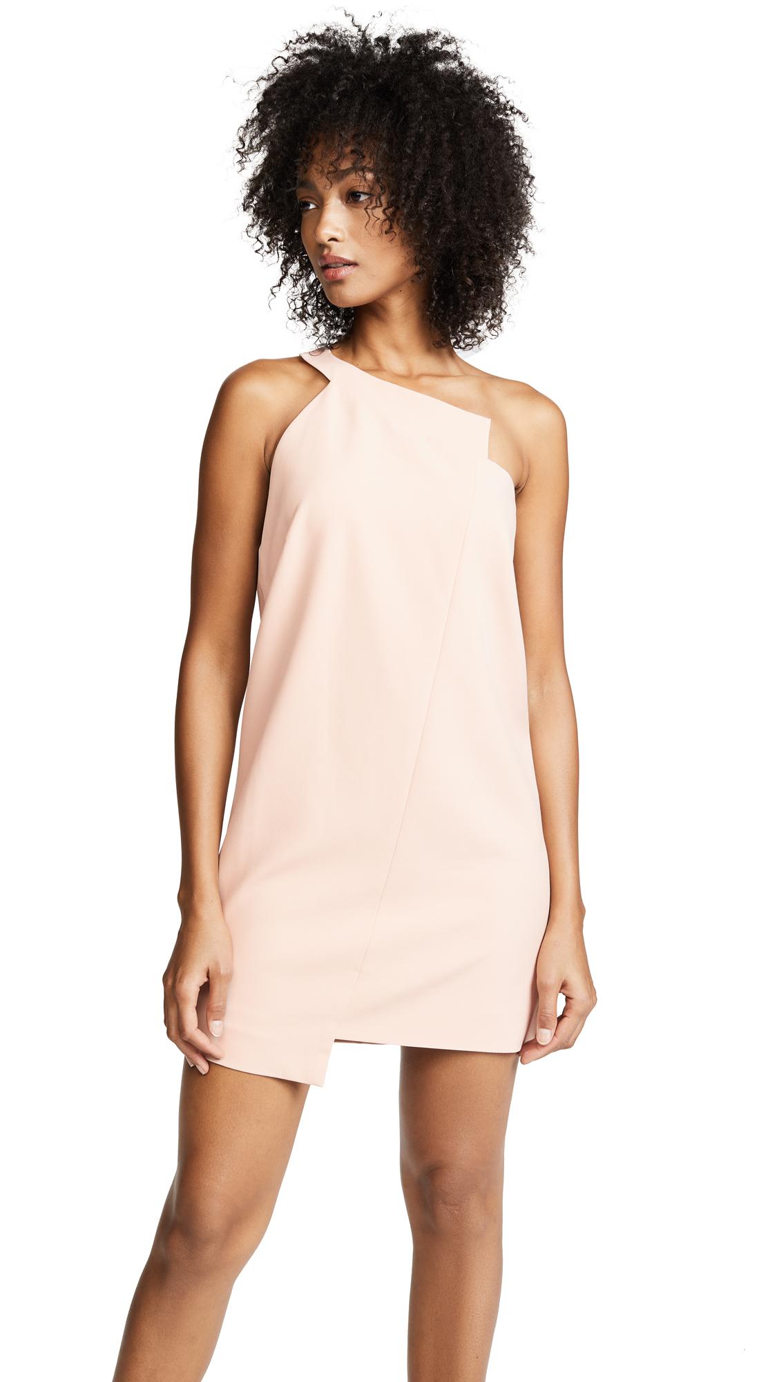 5467349b80cf Michelle Mason One Shoulder Shift Dress
