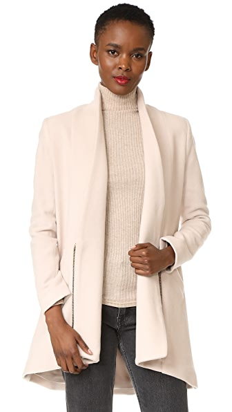 Michelle Mason Zipper Coat