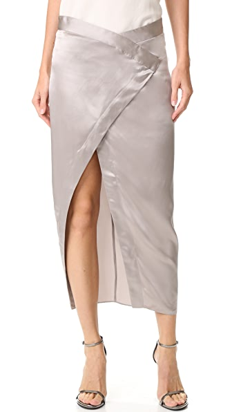 Michelle Mason Wrap Skirt