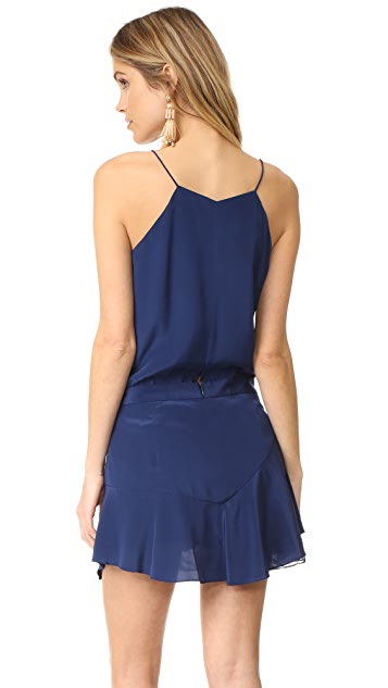 Michelle Mason Cami Ruffle Mini Dress