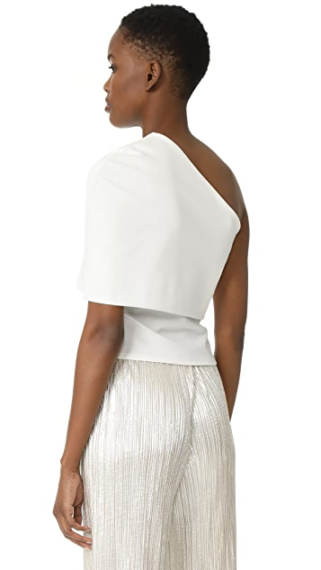 Michelle Mason Asymmetrical Cocoon Top