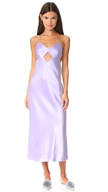 Michelle Mason Cutout Midi Dress