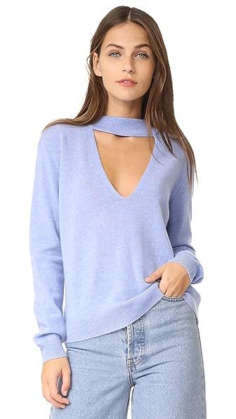 Michelle Mason Choker Sweater - Wisteria