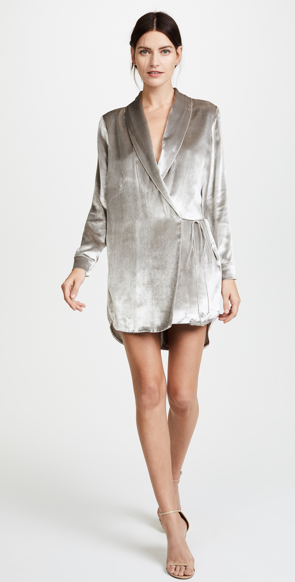 Michelle Mason Wrap Jacket Dress | SHOPBOP