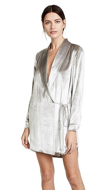 Michelle Mason Wrap Jacket Dress