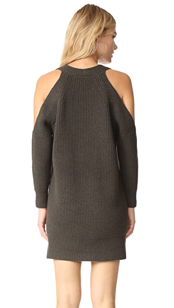 Michelle Mason Cold Shoulder Sweater