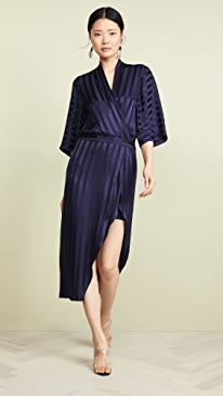 aac55b098fb79 Michelle Mason. Kimono Sleeve Dress