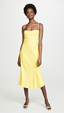 43d34afb36 Michelle Mason. Bustier Midi Dress