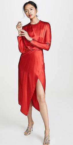 2b126d751abe49 Michelle Mason Origami Midi Dress
