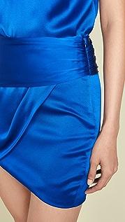 Michelle Mason Мини-юбка со сборками