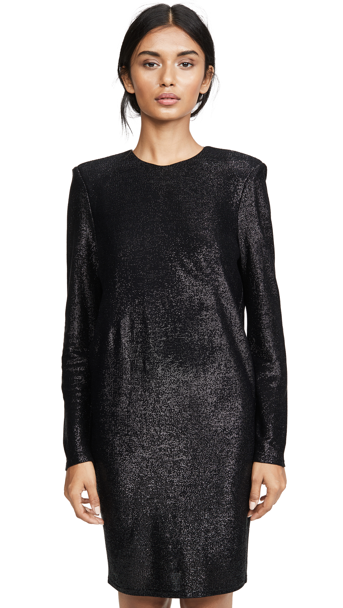 Buy Michelle Mason online - photo of Michelle Mason Long Sleeve Mini Dress with Crystals
