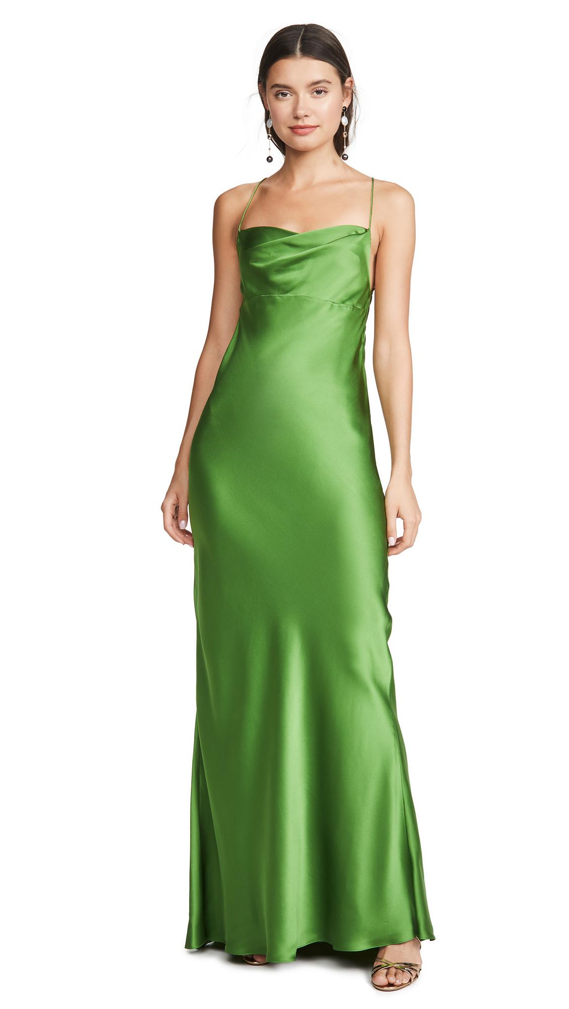 Buy Michelle Mason online - photo of Michelle Mason Cowl Bias Gown