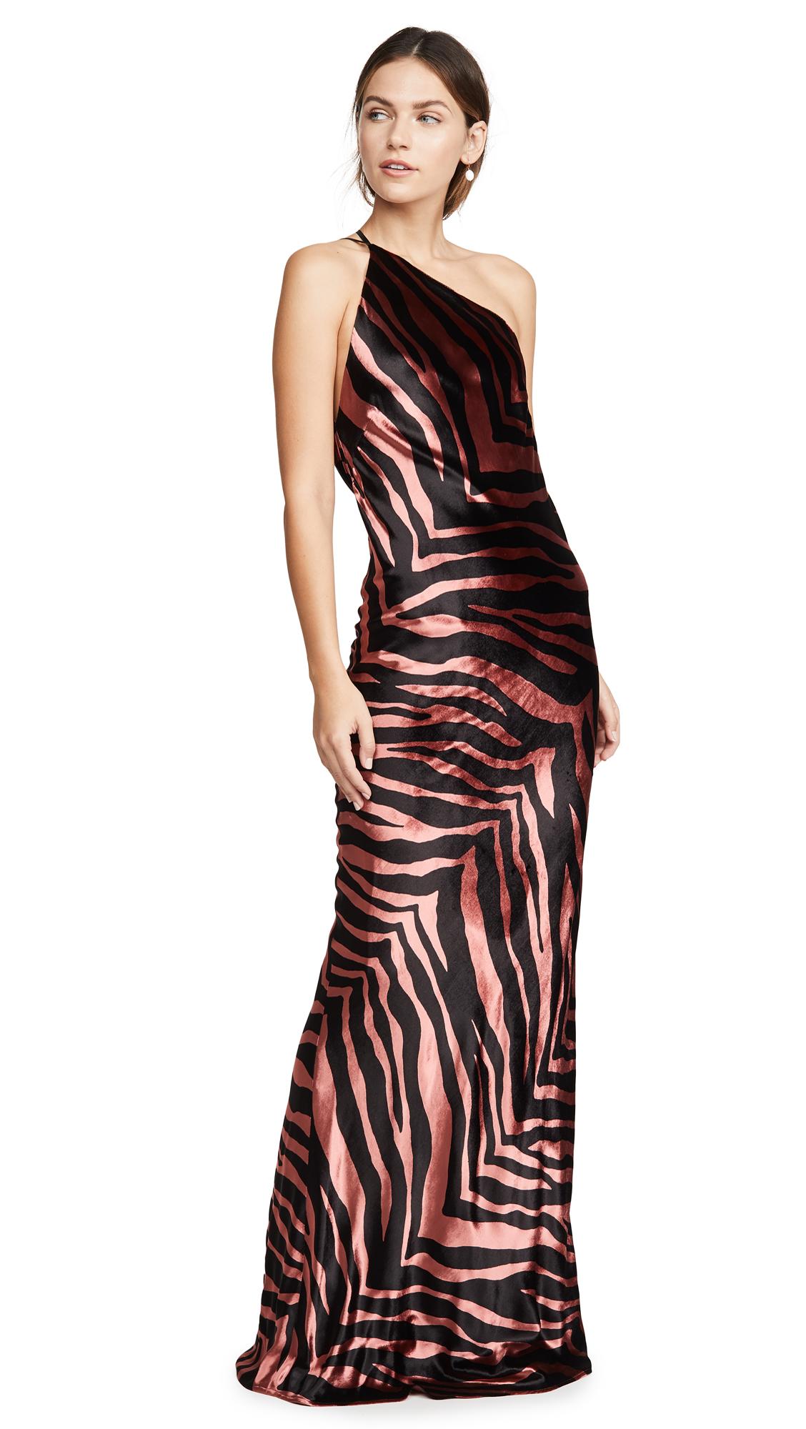Buy Michelle Mason online - photo of Michelle Mason Zebra Gown