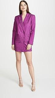 Michelle Mason 超大号外套连衣裙