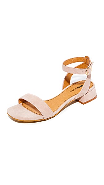 Matiko Raquela City Sandals - Blush