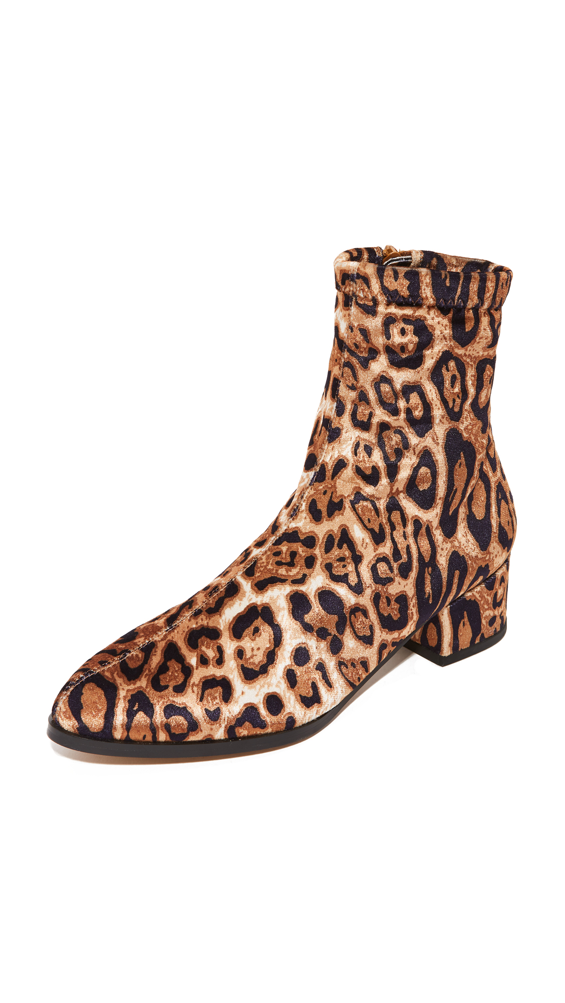 Matiko Jeanne Ankle Boots - Leopard