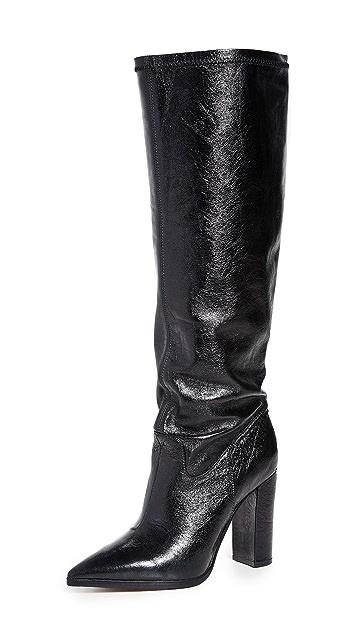 Photo of  Matiko Liza to the Knee Boots- shop Matiko Boots, Flat online sales