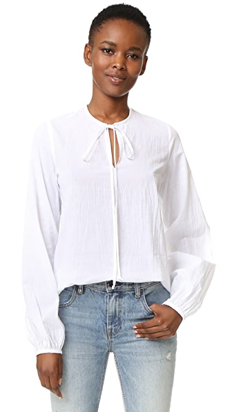 MATIN Lucca Full Sleeve Tie Top