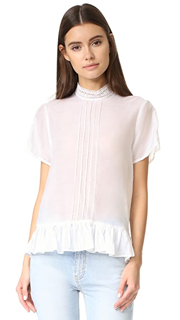 MATIN Brittany Lace Top