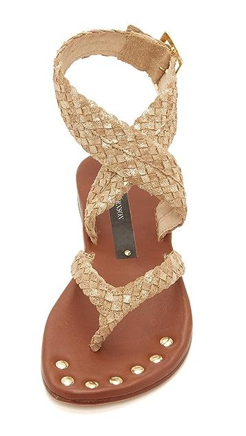 Matt Bernson Woven Ankle Band Sandals