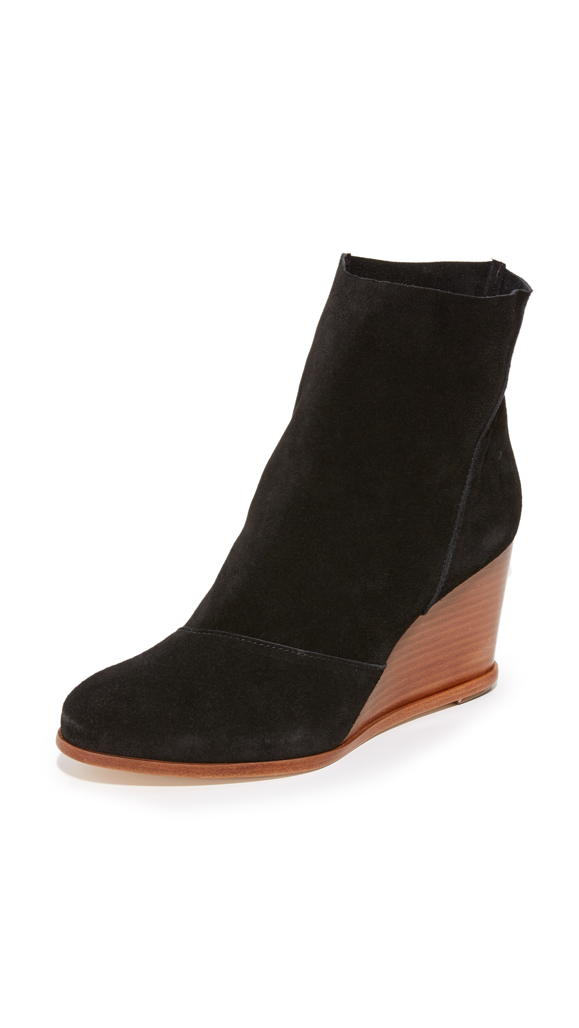 Matt Bernson Brooklyn Wedge Booties - Black