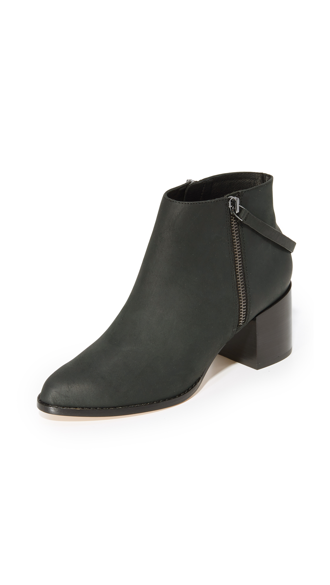 Photo of Matt Bernson Caspian Booties Black - Matt Bernson online