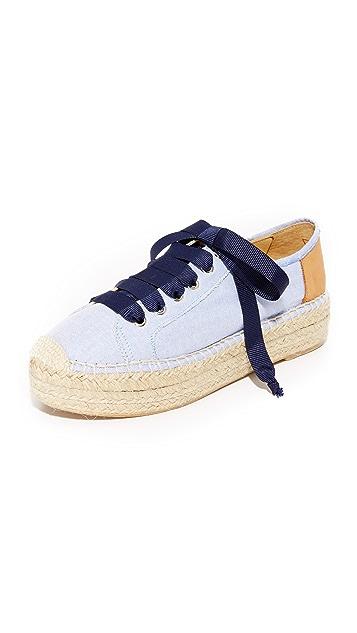 Matt Bernson Eze Chambray Espadrille Sneakers
