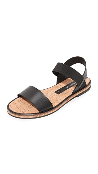 Matt Bernson Fritz Sandals - Black/Black