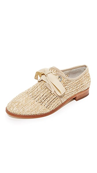 Dita Raffia Oxfords