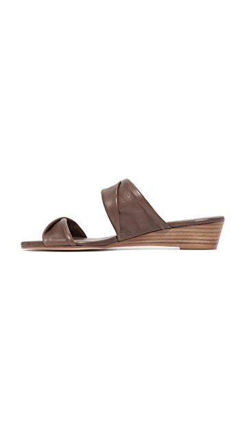 Matt Bernson Clover Demi Wedge Slides