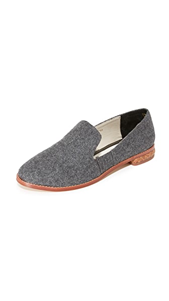 Matt Bernson Ellington Wool Loafers - Charcoal