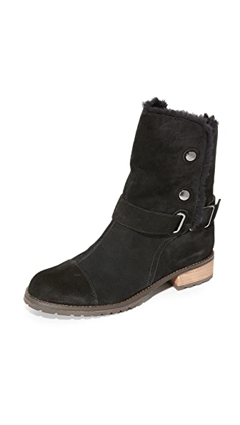 Matt Bernson Tundra Shearling Booties - Black