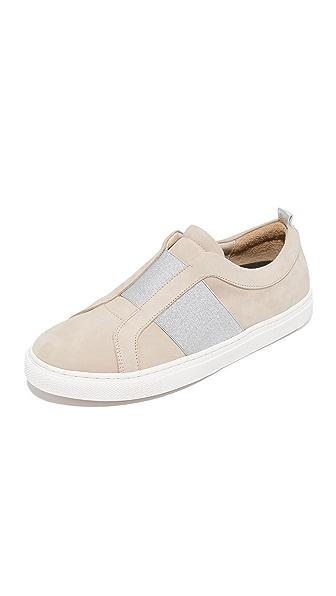 Matt Bernson Trifecta Sneakers In Honey/Silver