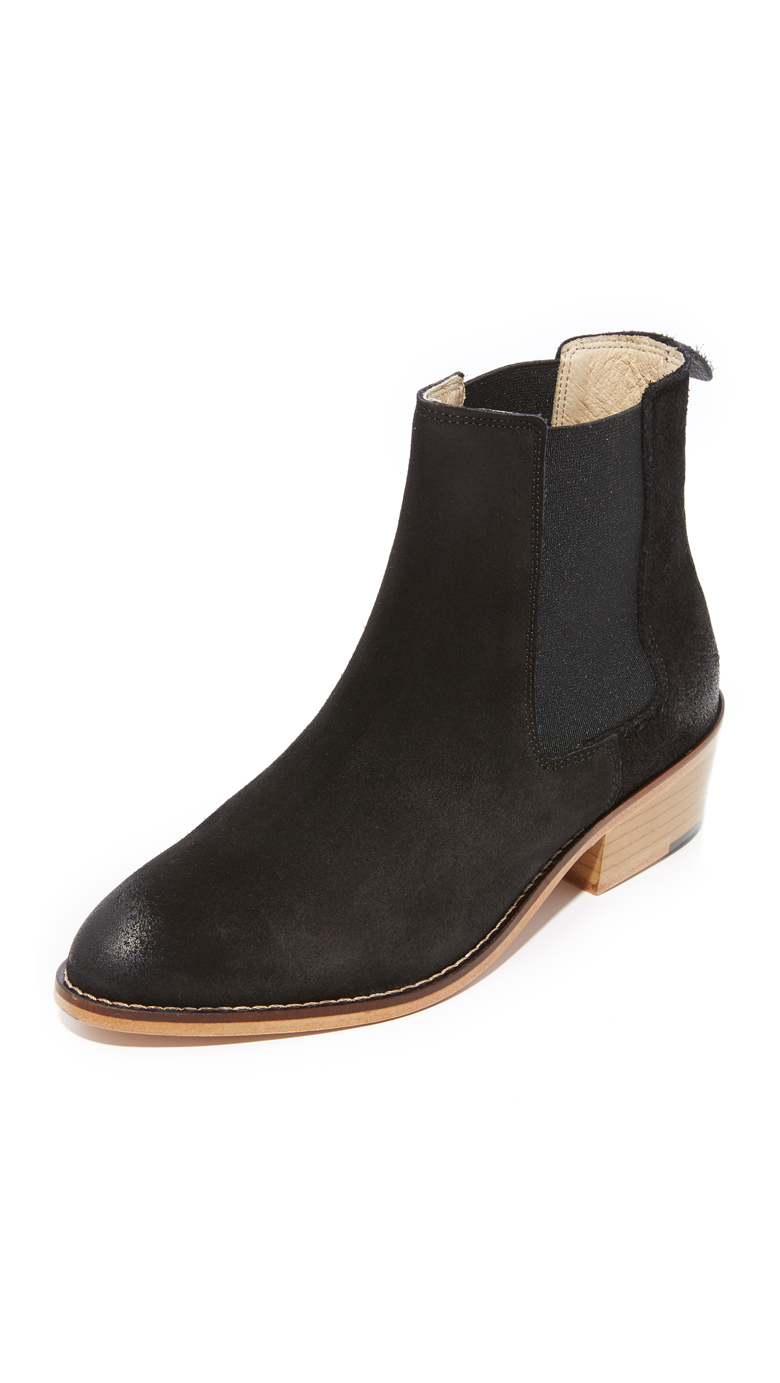 Matt Bernson Frisco Chelsea Booties - Black