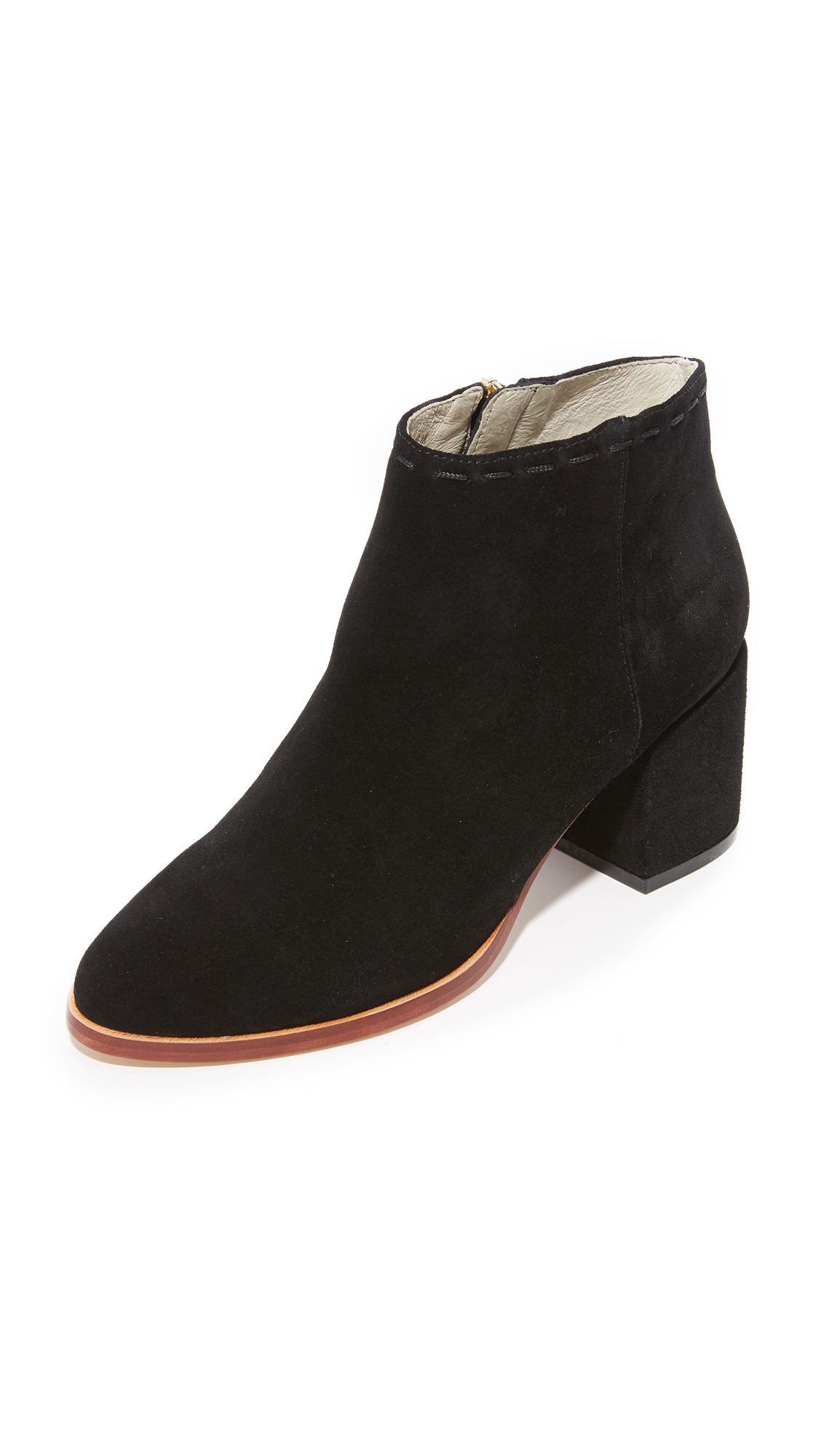 Matt Bernson Lido Ankle Booties - Black