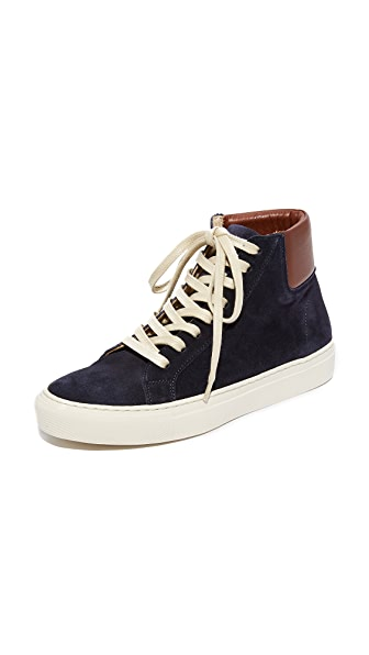 Matt Bernson Freethrow High Top Sneakers - Dark Navy