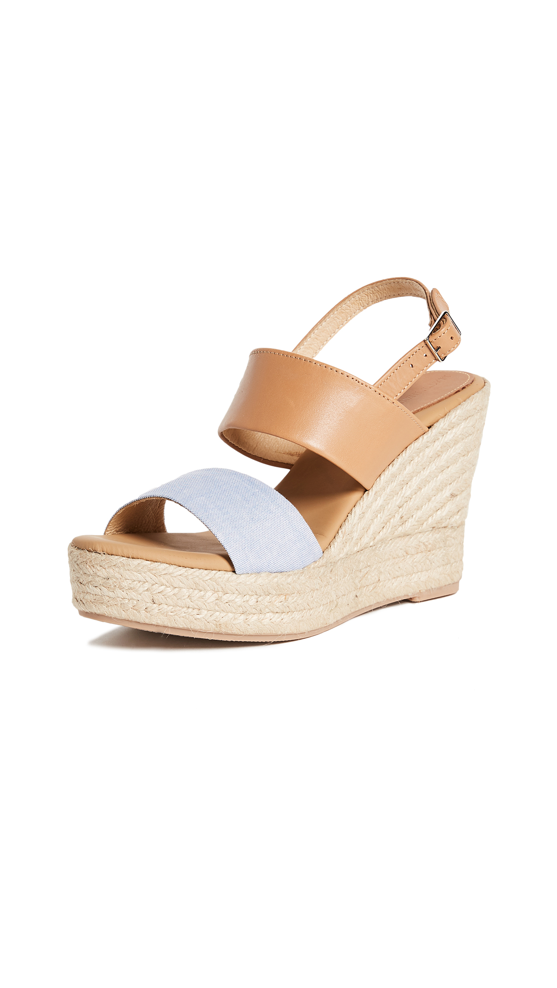 Matt Bernson Marseille Wedges - Wheat/Chambray