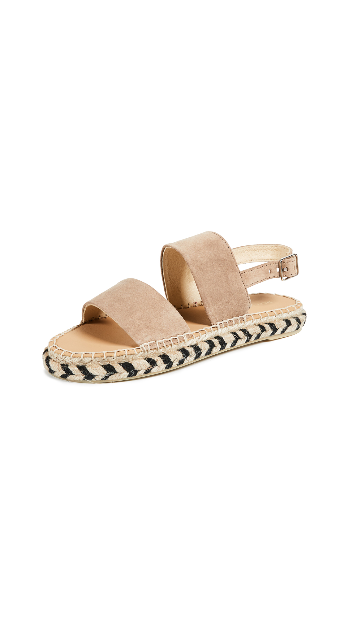 Matt Bernson Nissi Ankle Strap Espadrilles - Tan