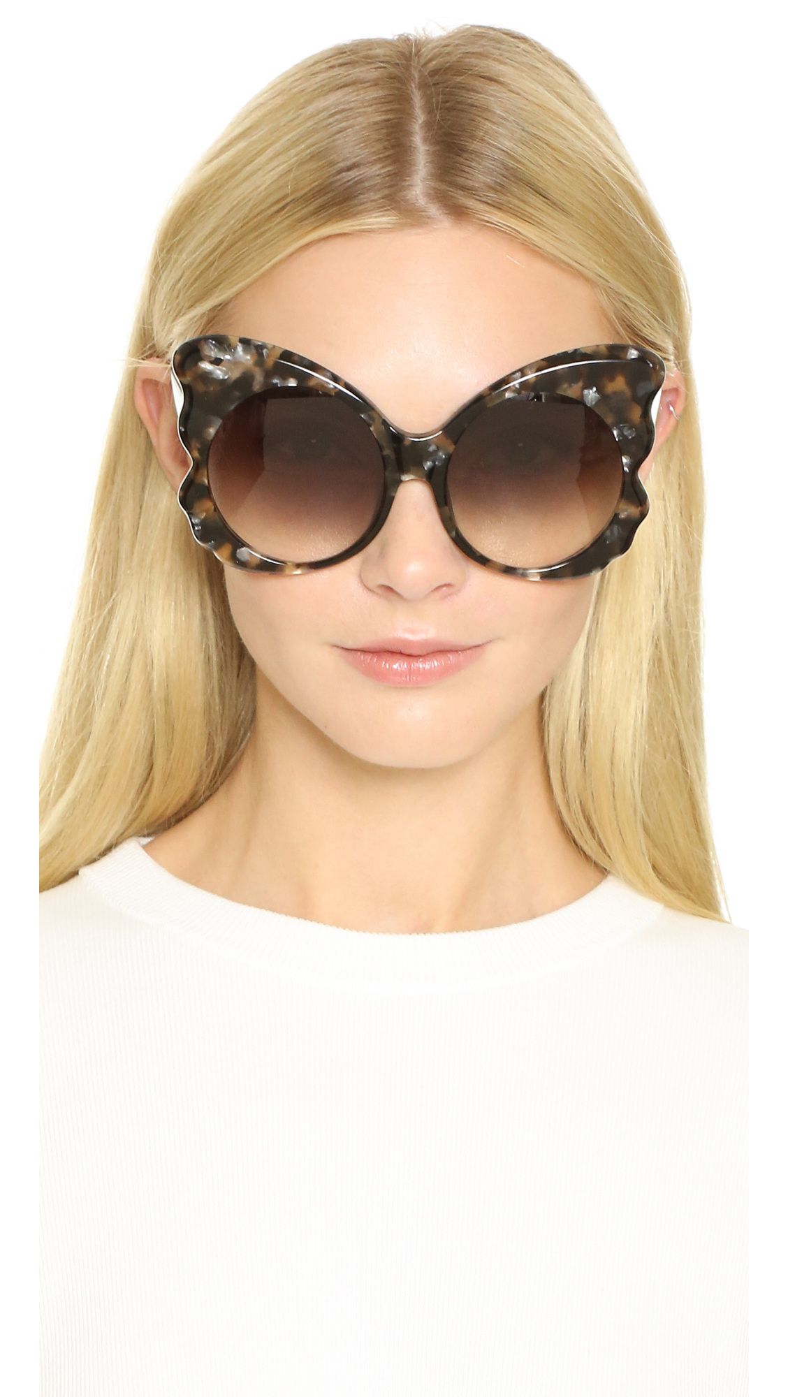 3ddb236a035 Matthew Williamson Butterfly Sunglasses