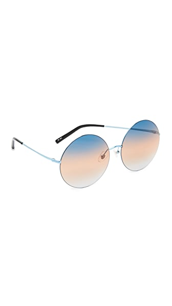 Matthew Williamson Round Sunglasses