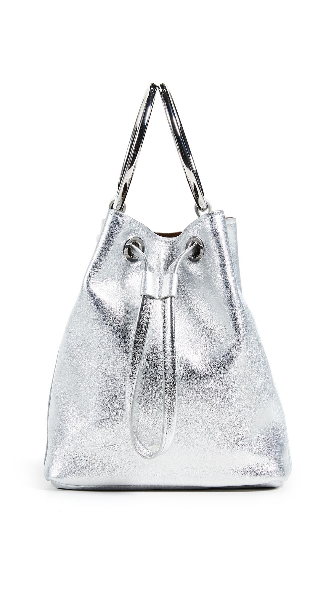 MEDIUM TWO RING BUCKET BAG