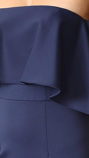 Monique Lhuillier Bridesmaids Off the Shoulder Gown