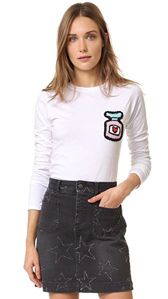 Michaela Buerger Long Sleeve T-Shirt - White