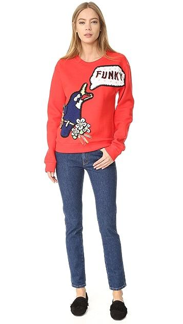 Michaela Buerger Funky Bird Sweatshirt